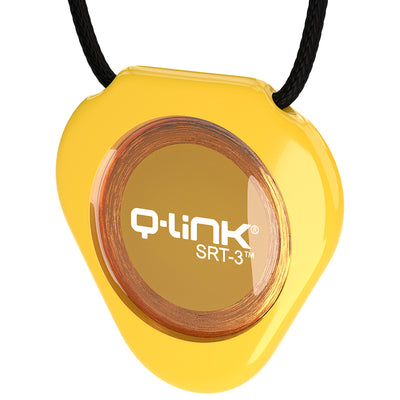 Q-Link Acrylic SRT-3 Pendant (Gloss Neon Yellow) - NEW!