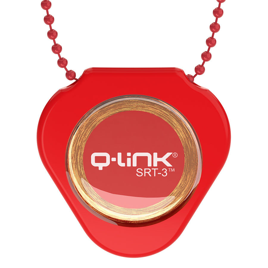 Q-Link Brand Color Coded Bead Chain (Red)