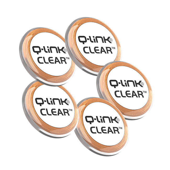 Q-Link CLEAR 5 Pack Bundle (5 Phi White)