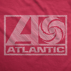 Hint of Atlantic Records - Womens T-Shirt