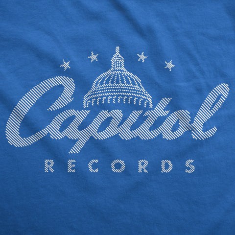 Hint of Capitol Records - Womens T-Shirt
