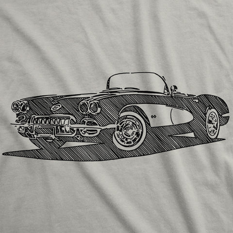 Chevrolet Corvette - Womens T-Shirt
