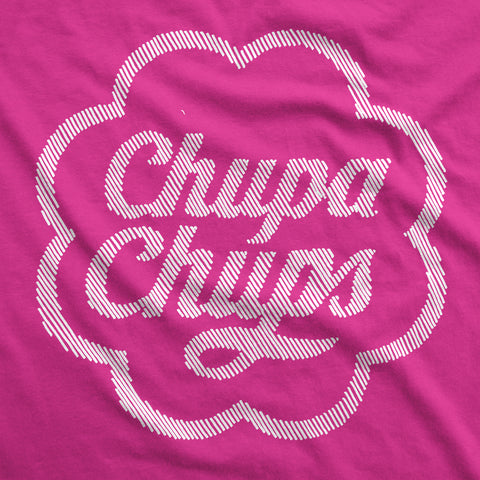 Hint of Chupa Chups - Womens T-Shirt