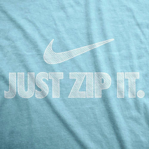 Just Zip It - Womens T-Shirt