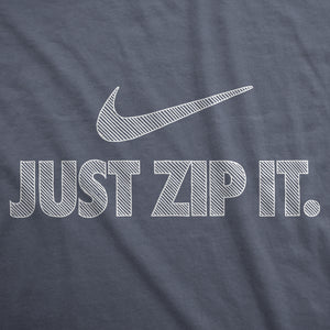 Just Zip It - Mens T-Shirt