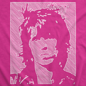 Keith Richards - White Line - Womens T-Shirt