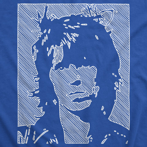 Keith Richards - White Line - Mens T-Shirt