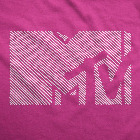 Hint of MTV - Womens T-Shirt
