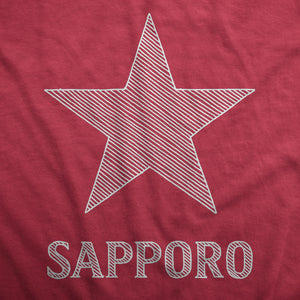 Sapporo Beer - Womens T-Shirt