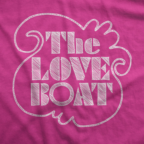 The Love Boat - Womens T-Shirt