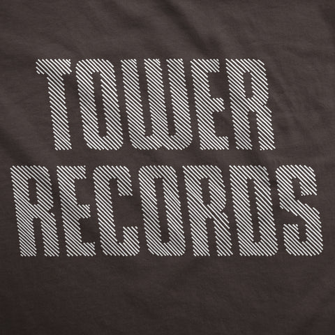 Hint of Tower Records - Womens T-Shirt