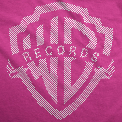 Hint of Warner Records - Womens T-Shirt