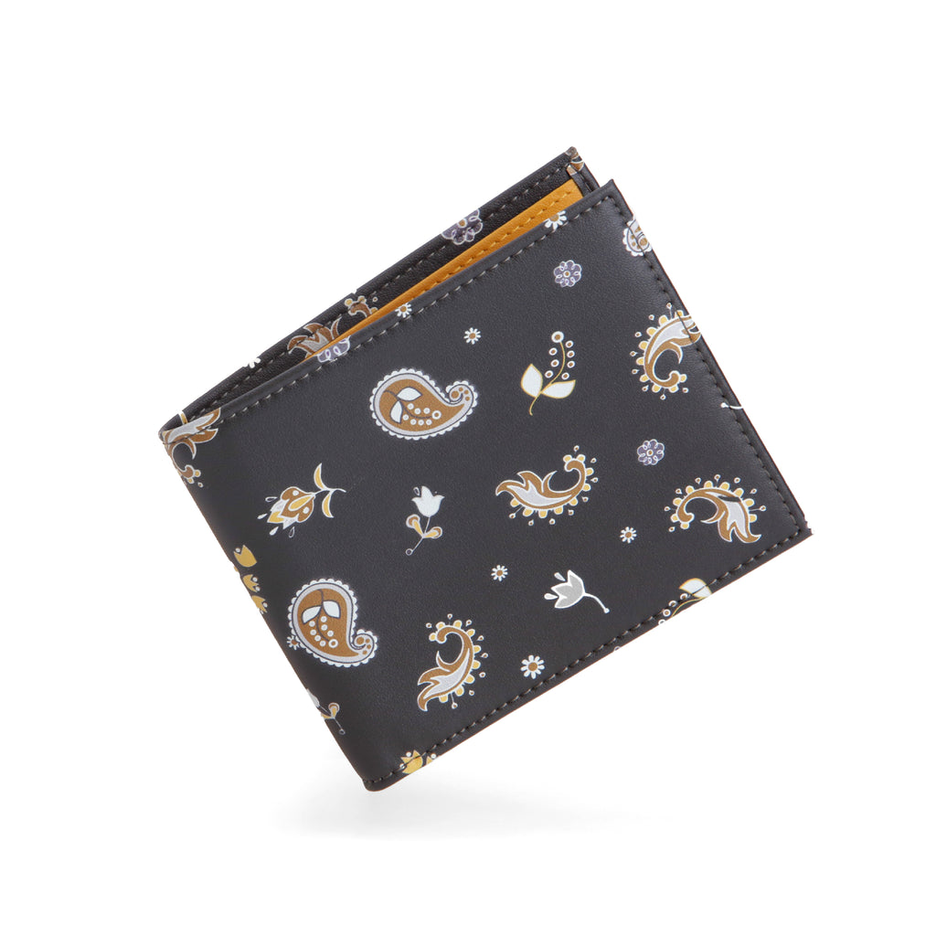 Paisley Bifold Wallet