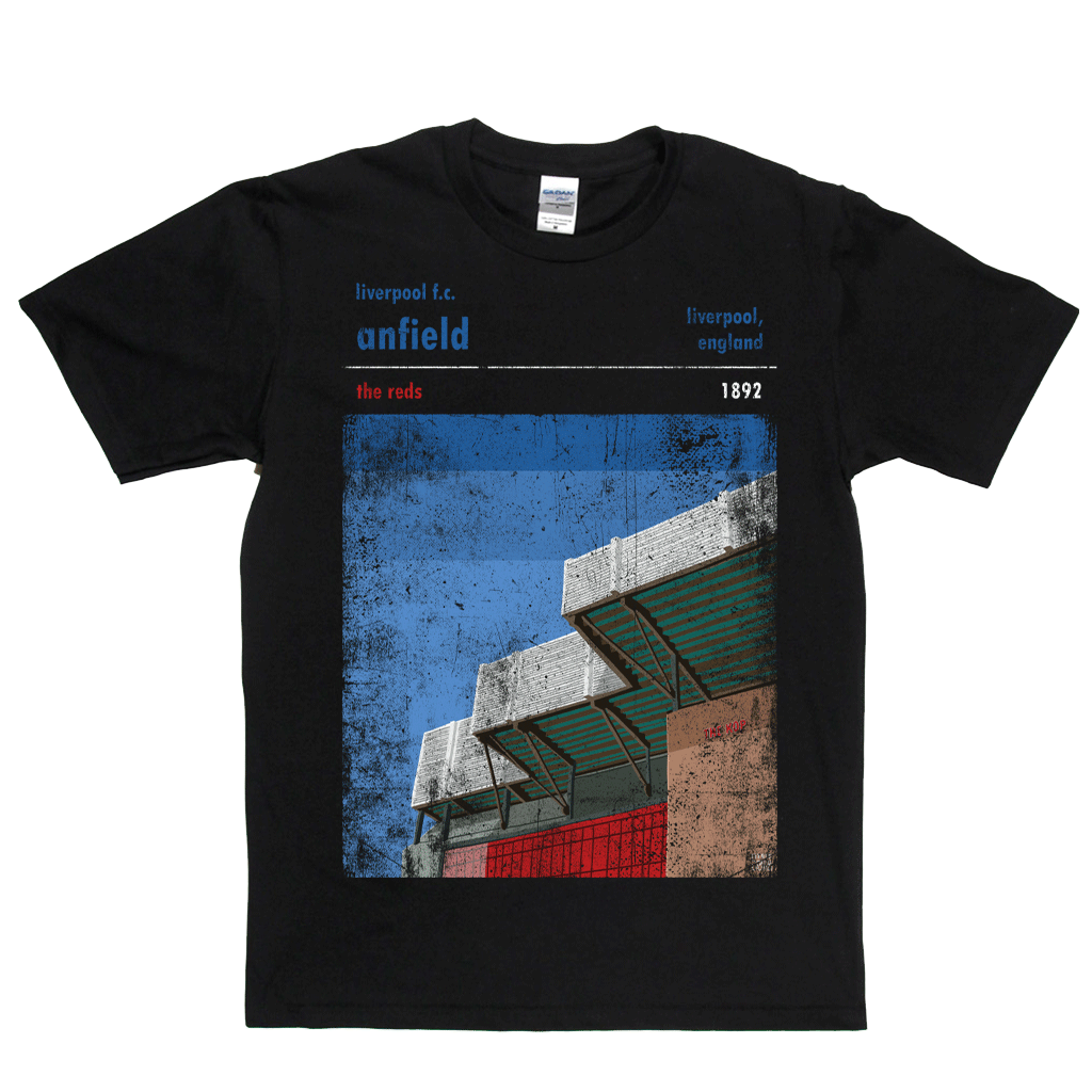 Anfield The Reds Poster Regular T-Shirt