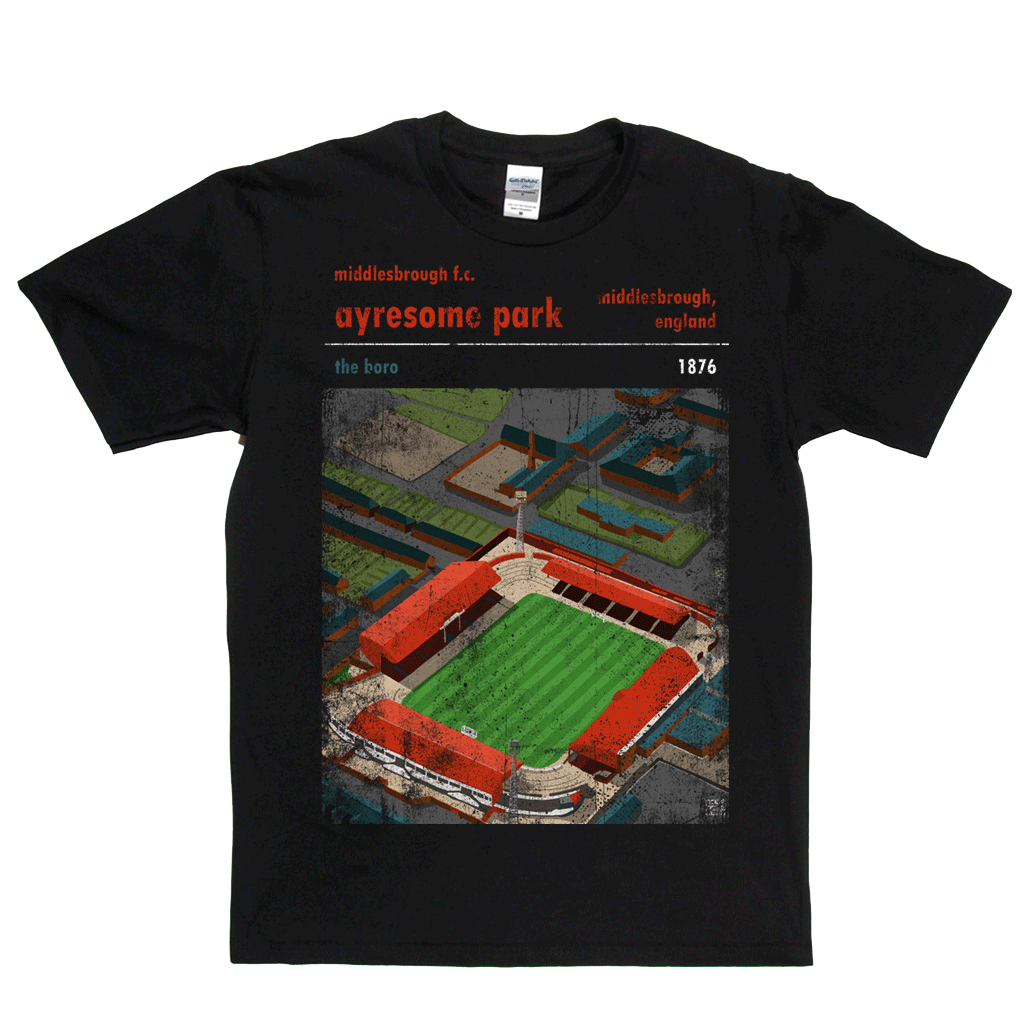 Ayresome Park The Boro Poster Regular T-Shirt