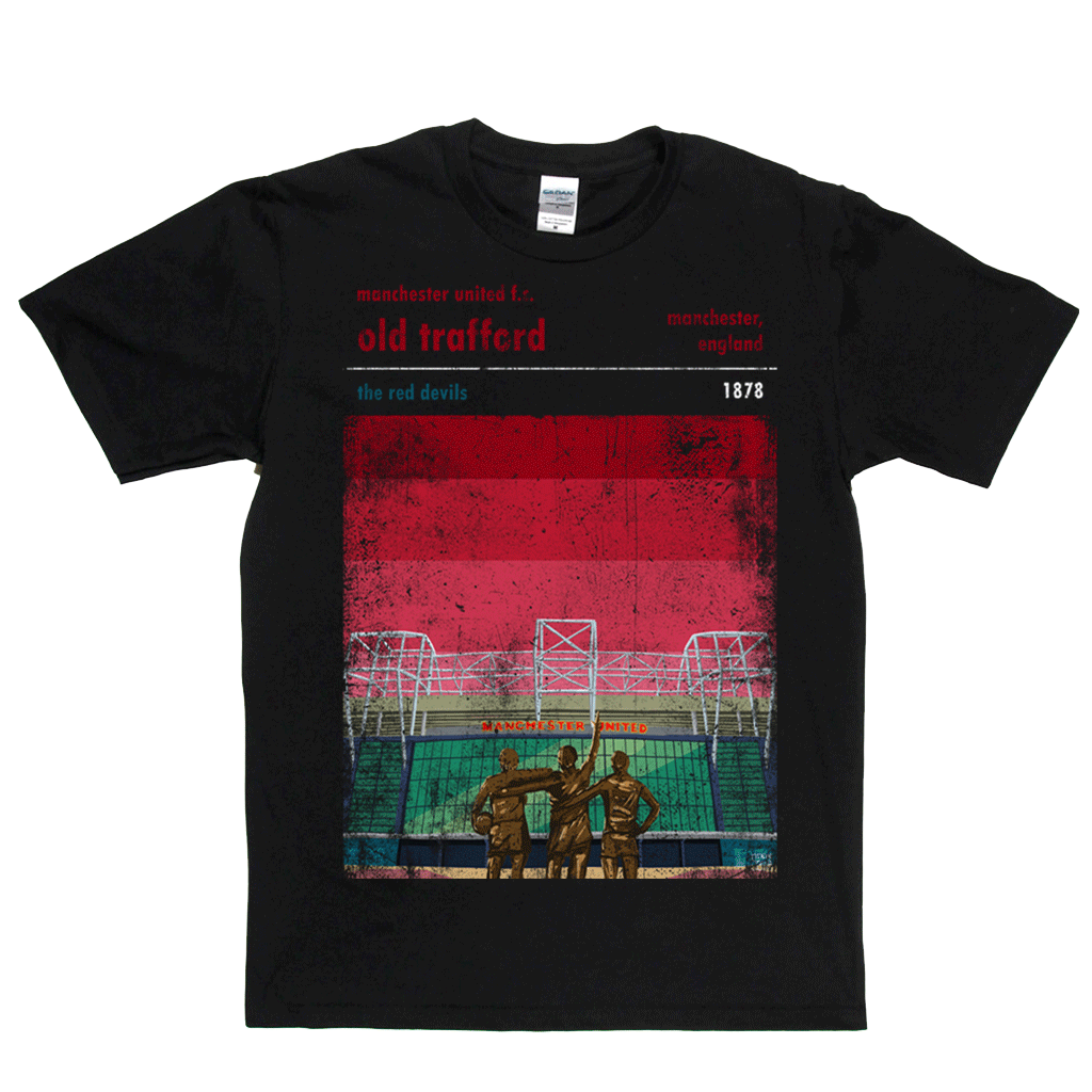 Old Trafford The Red Devils Poster Regular T-Shirt