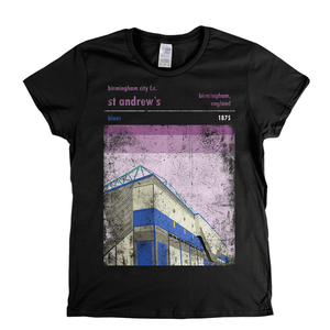 St Andrews Blues Poster Womens T-Shirt