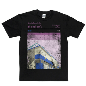 St Andrews Blues Poster Regular T-Shirt