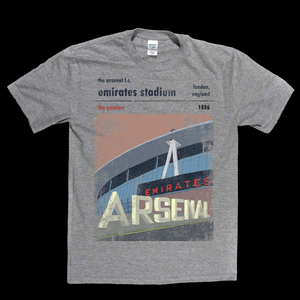 Emirates Stadium The Gunners Poster Regular T-Shirt
