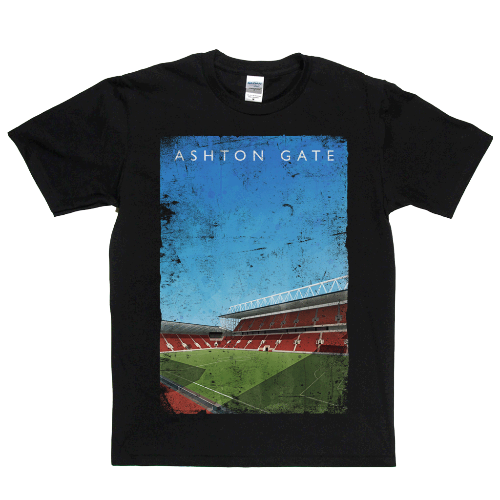 Ashton Gate Football Ground Poster Regular T-Shirt