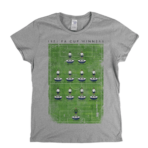 Spurs 1981 Fa Cup Poster Womens T-Shirt