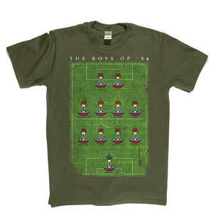 West Ham Boys Of 86 Poster Regular T-Shirt