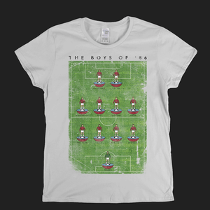 West Ham Boys Of 86 Poster Womens T-Shirt