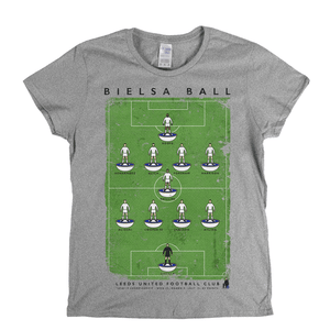 Leeds United 2018-2019 Poster Womens T-Shirt