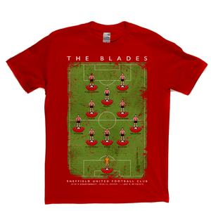 Sheffield United Championship Runners Up 2019 Poster Regular T-Shirt