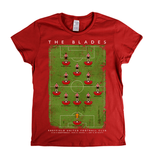 Sheffield United Championship Runners Up 2019 Poster Womens T-Shirt