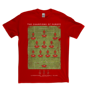 Liverpool European Champions 2019 Regular T-Shirt