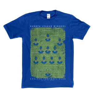 Chelsea Europa League Winners 2019 Regular T-Shirt
