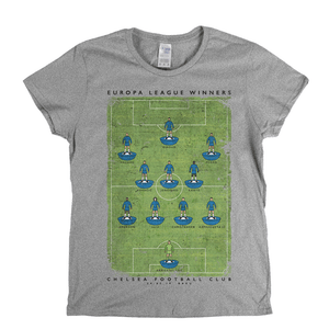 Chelsea Europa League Winners 2019 Womens T-Shirt
