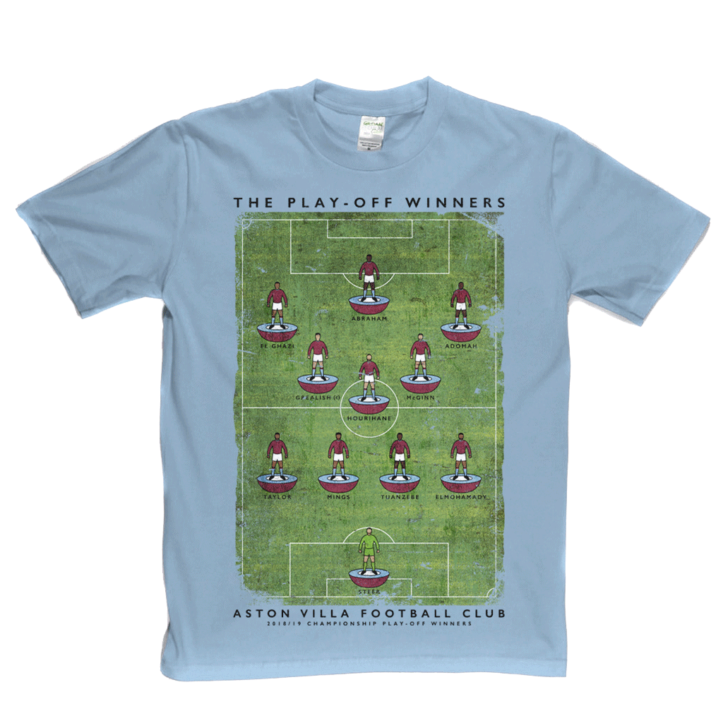Aston Villa Play Off Winners Regular T-Shirt