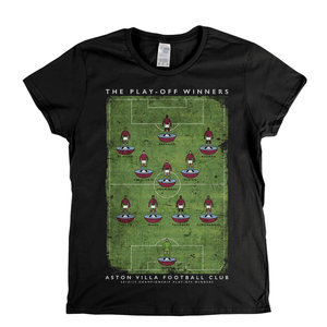 Aston Villa Play Off Winners Womens T-Shirt