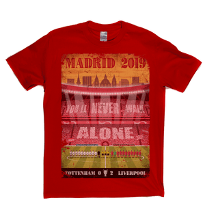 Tottenham Liverpool Madrid 2019 Regular T-Shirt
