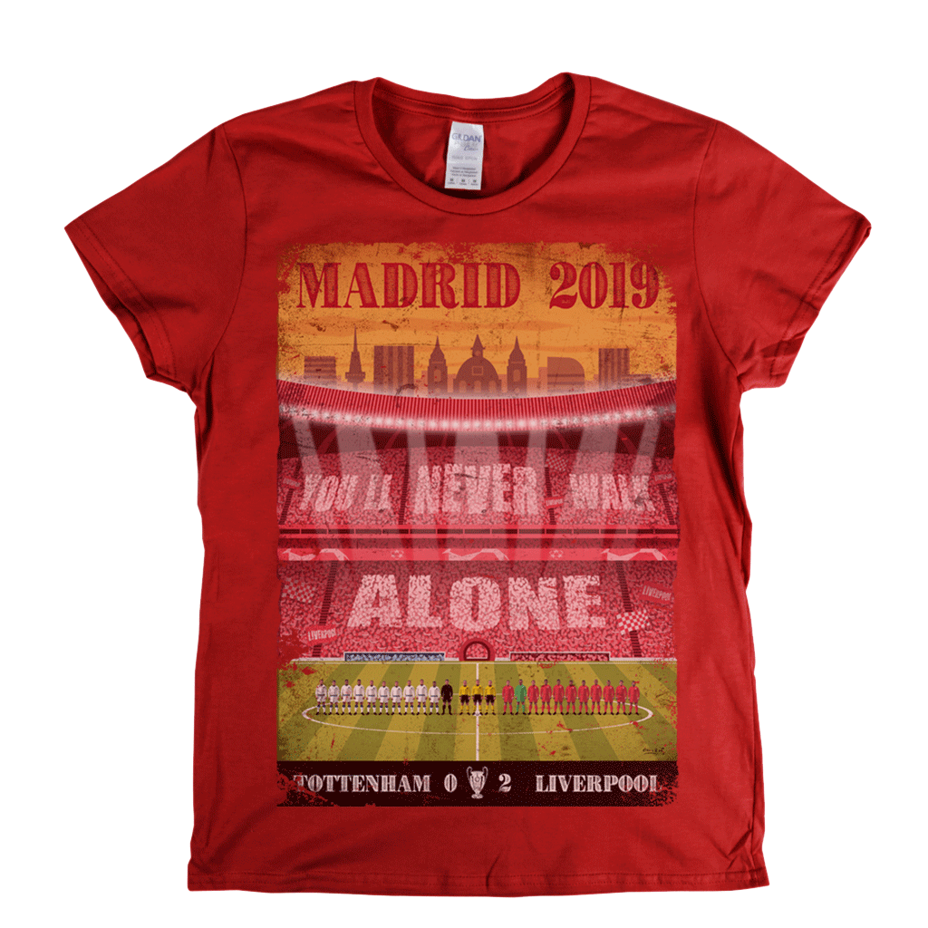 Tottenham Liverpool Madrid 2019 Womens T-Shirt
