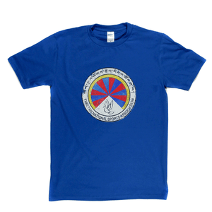 Tibetan National Sports Association Badge Regular T-Shirt