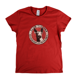 Club Tijuana Badge Womens T-Shirt