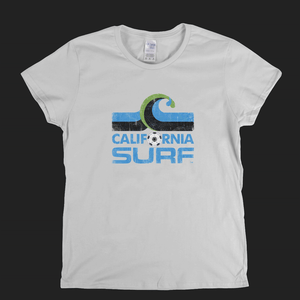 California Surf Badge Womens T-Shirt