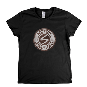 Motor Zwickau Badge Womens T-Shirt