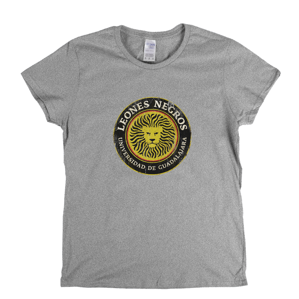 Leones Negros UdeG Badge Womens T-Shirt