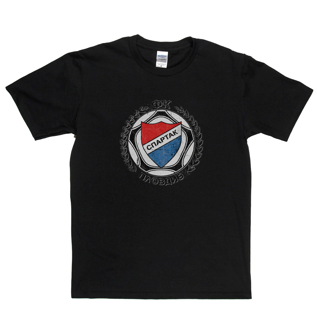 Spartak Plovdiv Badge Regular T-Shirt