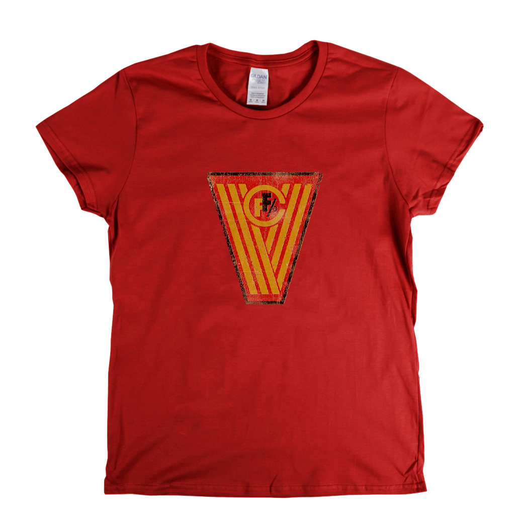 FC Vorwarts Frankfurt Badge Womens T-Shirt