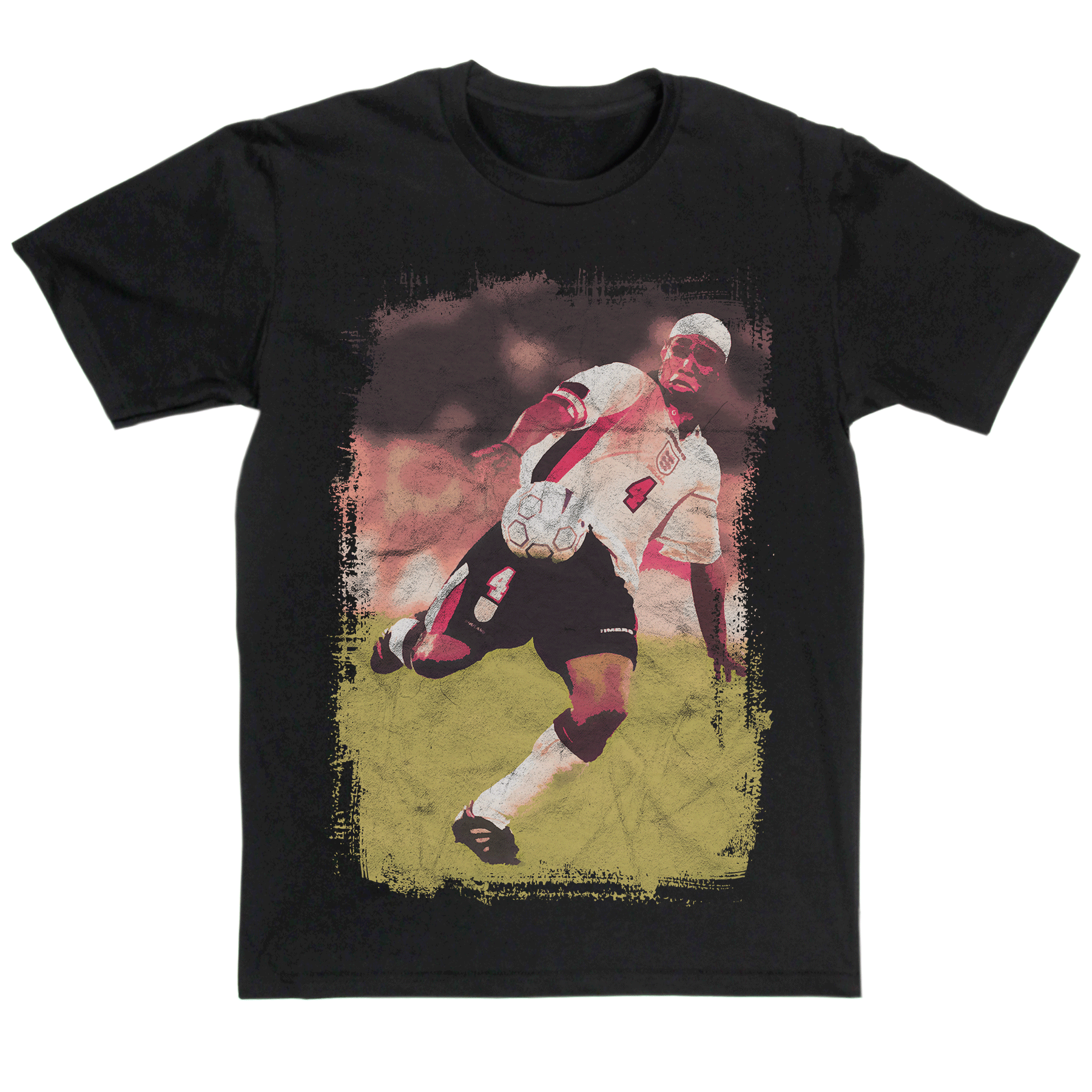 Football Heroes Paul Ince T-Shirt