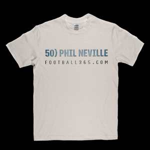 50 Phil Neville F365 Regular T-Shirt
