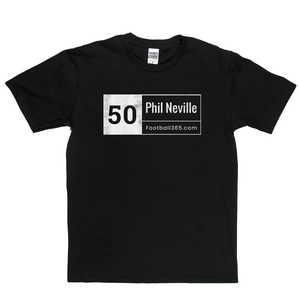 50 Phil Neville Regular T-Shirt