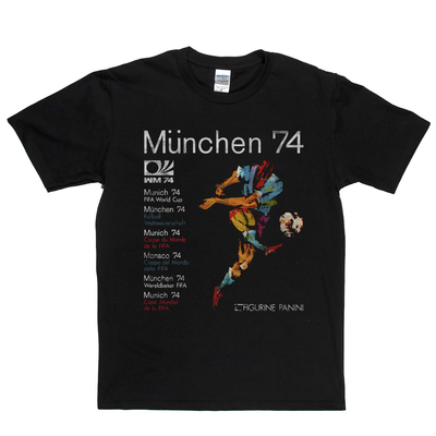 World Cup 1974 Poster T-Shirt
