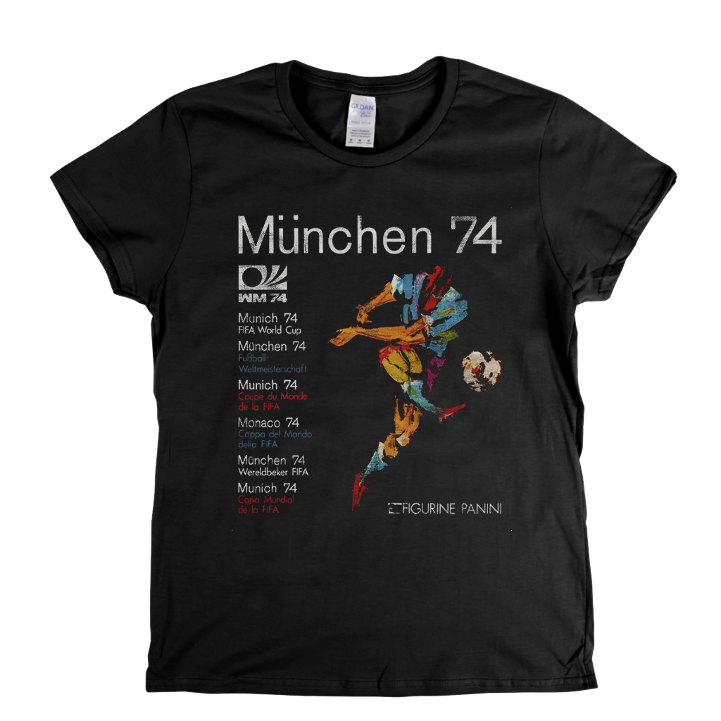 World Cup 1974 Poster Womens T-Shirt