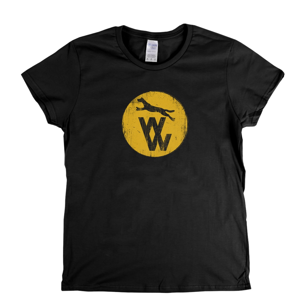 Wolves 1970 74 Badge Womens T-Shirt